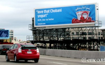 Chobani: Building an Emerging Brand with Out of Home Media