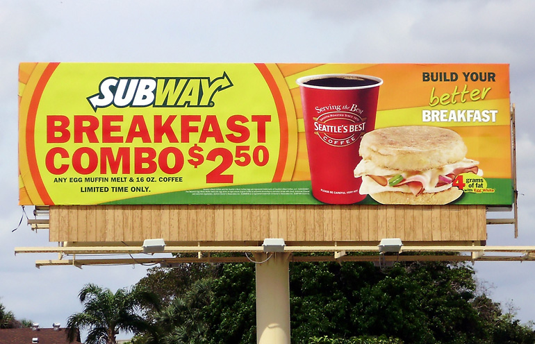 the successful factors of subway ads Eight characteristics of successful retail concepts  it is possible to observe some factors that are associated with successful new retail  such a subway,.