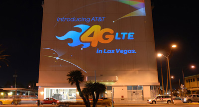 Mobile Projection Advertising for ATT