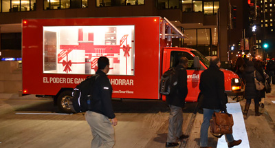 Mobile Billboard Advertising for ComEd