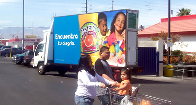 Mobile Billboard Advertising for Tampico