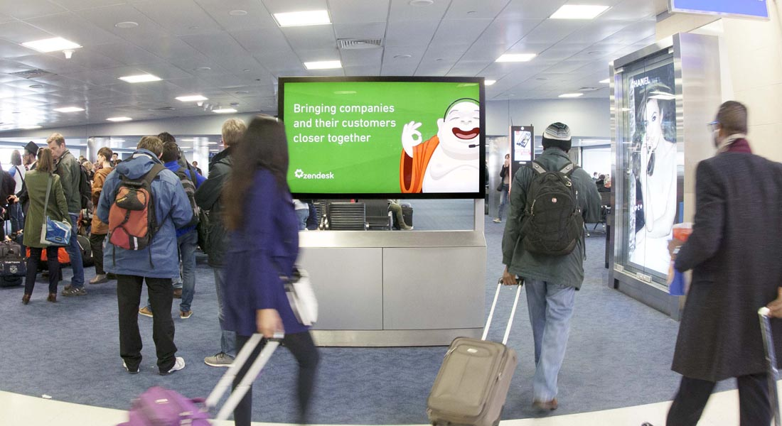 Case Study   Digital Out of Home Marketing Campaign for ZenDesk