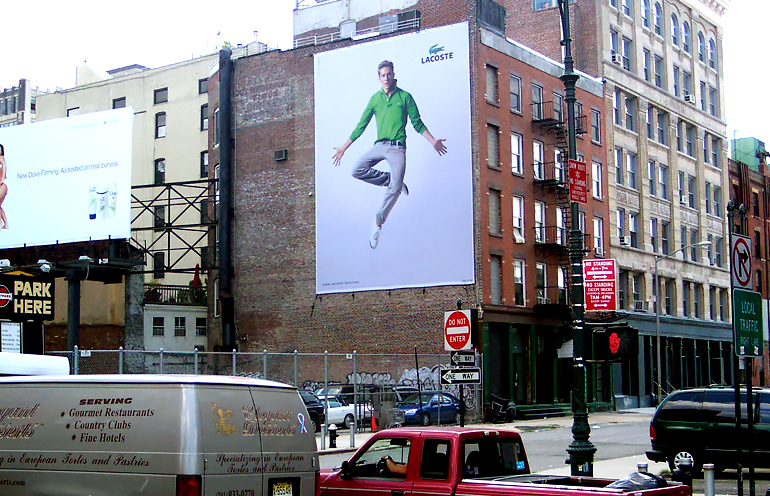 advertising wallscape